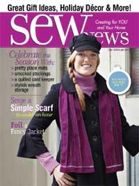 Sew News Dec 09 cover