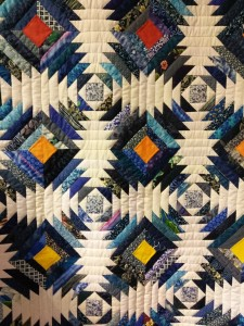 Blues March quilt cu