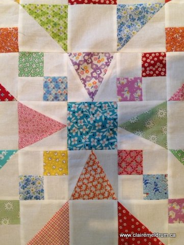 Gathering Threads – A Quick Vintage-Style Quilt | Smocking, Sewing ... : tri recs quilt patterns - Adamdwight.com